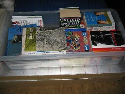 Box of Books - Mixed Variety - Ideal for Car Booting