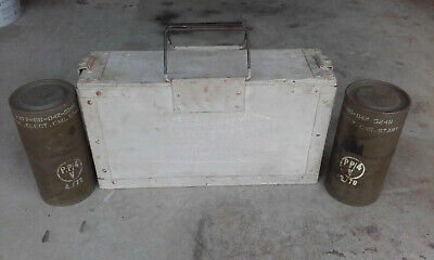 VINTAGE WOODEN AMMO BOX AUSTRALIAN ARMY 303 ball 300 cart mk7 bdr pp4 container