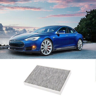 EVTIME for Tesla Model S Cabin Air Filter with Activated Carbon Fit 2012-2015 Model S 1035125-00-A.