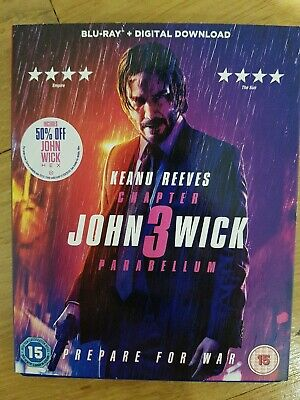 John Wick: Chapter 3 - Parabellum [2019] (Blu-ray) Keanu Reeves, Halle Berry