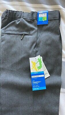 3 Pairs of boys Marks And Spencer's grey school trousers Age 5-6