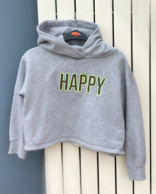 Girls Happy Hoodie.  Age 11 From Next.  Excellent Condition.