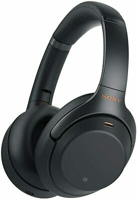Sony WH-1000XM3 Over Ear Bluetooth-Kopfhörer Noise Cancelling schwarz