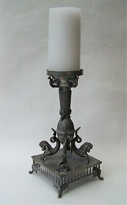 Georgian / Victorian Metalware Mythology Silver Plated Table Centrepiece