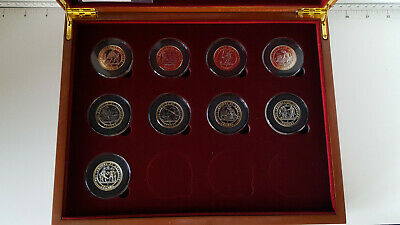 Gibraltar £2 The Labour Of Hercules  Two Pounds 12 X Coin Box -  Free P&P