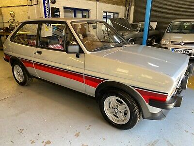 1981 Ford Fiesta 1.3 SuperSport immaculate low mileage example