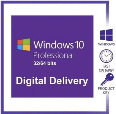 Genuine Instant Windows 10 Professional Pro Activation Code Key ✔️
