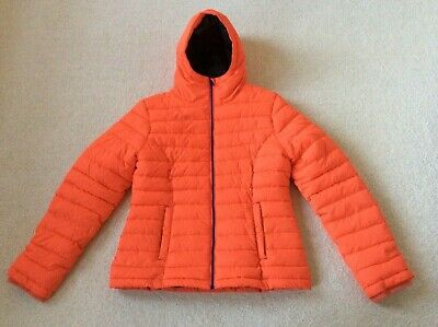 Johnnie b (Boden) Orange Padded Coat Age 16 years