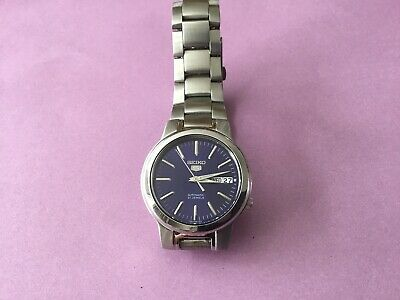 seiko 5 automatic mens watch 7S26-02N0 used, Good Working Order