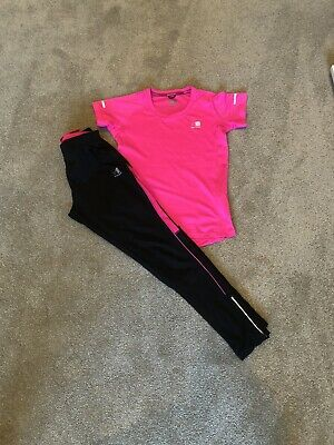 girls karrimor Running Set Age 13