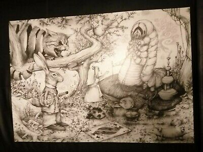 DRAN very rare lithograph /poster by edition populaire (un signed banksy invader