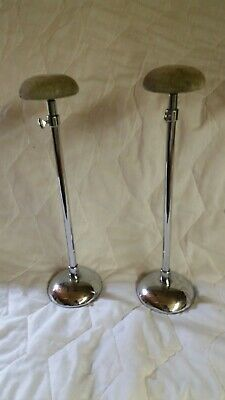 vintage metal wig or hat stands