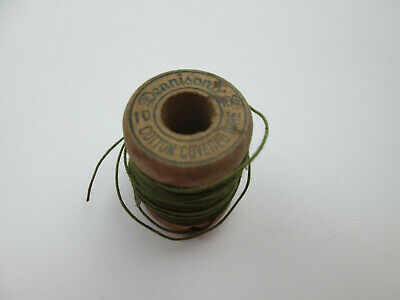 Vintage Dennisons Cotton Covered Wire Spool