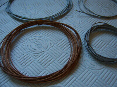 ANTIQUE CLOCK  wire, bronze and silver coloured new