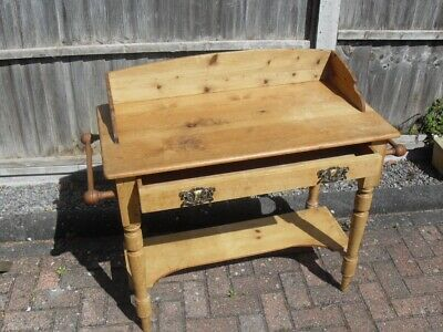 Beautiful Victorian Style Pine Washstand Table
