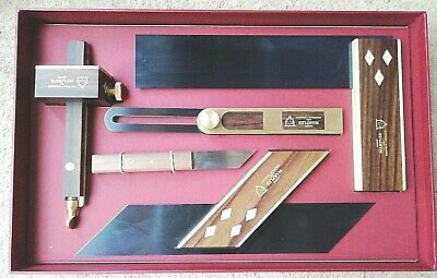 Joseph Marples Trial 1 Woodworking Carpentry Marking Tool Set ,Made in Sheffield