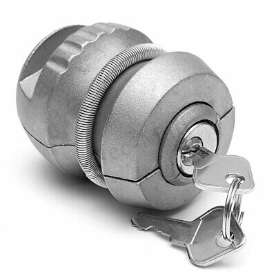 Insertable Hitch Coupling Lock For Trailer & Caravan Security Tow Bar Anti Theft
