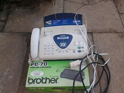 Brother telephone fax machine T94