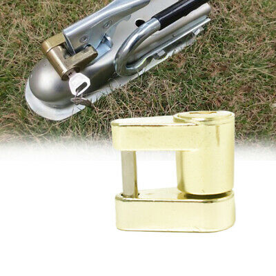 Trailer Lock Parts Universal Solid Theft Protection Coupling Caravan Device
