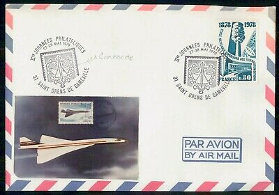Mayfairstamps France 1978 Concorde Cover wwe_98663