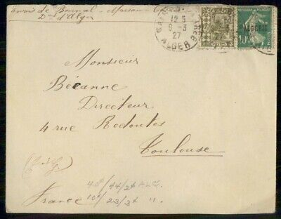 Mayfairstamps France 1927 to Toulouse Cover wwe_99439