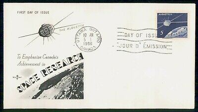 Mayfairstamps France 1966 Space Research First Day Cover wwe_97481