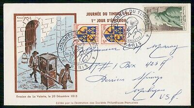 Mayfairstamps France FDC 1954 La Valette First Day Cover wwe_98289
