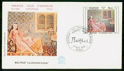 Mayfairstamps France FDC 1982 La Chambre Turque First Day Cover wwe_98105