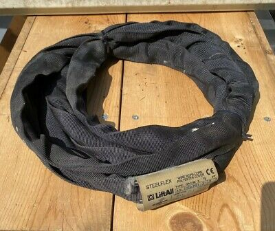 LiftAll GAC60X9, 9' Wire Rope Core Polyester Cover Round Sling Used