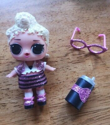 LOL Surprise Doll HOLIDAY BLING PINK BABY Big Sis Sister Dolls GLITTER BABE GIRL