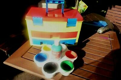 Children's Painting and Art set in carry case ,Early Learning Items