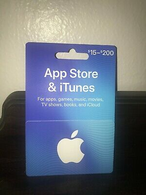 $100 APPLE iTUNES GIFT CARD, New,  FAST FREE worldwide shipping