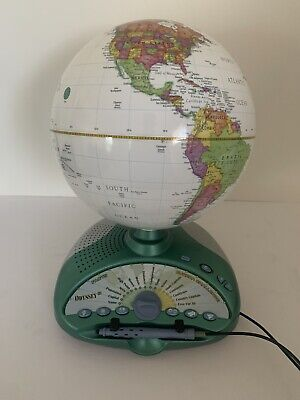 Leap Frog Odyssey Iii Smart Globe Learning Talking Interactive Geography Lesson