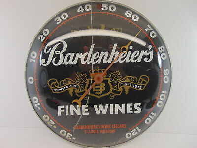 Bardenheier's Wine Co. St.Louis Mo. Thermometer
