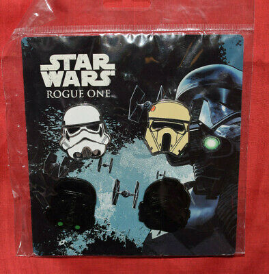 Disney Pin 118495 Star Wars Rogue One Helmets Booster Pack