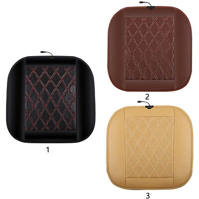 Warm Winter Pad Heating Cushion Electric Car Switch Control Safe PVC Leather