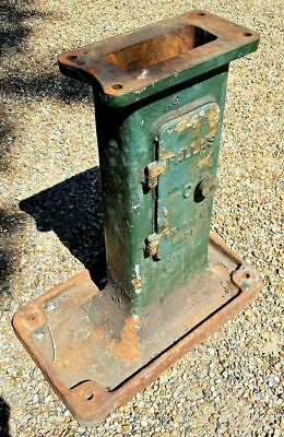 Vintage Industrial Cast Iron Lathe Stand Pallas Made in England Circa 1920
