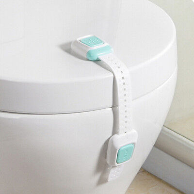 Baby Child Adhesive Door Cupboard Cabinet Fridge Drawer Safety Lock LI