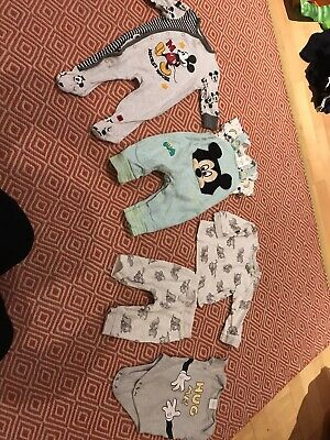 Baby Boys 3-6 Month Disney Mickey Mouse Dumbo Clothes Outfit Bundle Disney Store