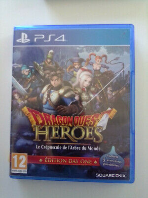 Jeu Video Pour Playstation 4  Ps 4 Ps4 Dragonquest  Dragon Quest Heroes Ed One