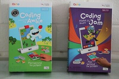 Brand New OSMO CODING AWBIE / CODING JAM GAME aged 5-12 for iPAD