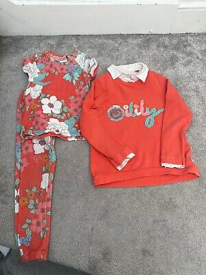 Oilily girls Leggings, Tee Shirt And Long Sleeve Top Set age 6 years