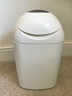 Tommee Tippee Sangenic Nappy Disposal Bin - White