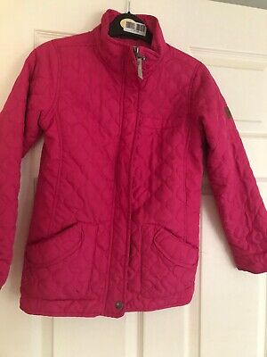 Regatta Girls Pink Jacket Age 9-10 Yrs
