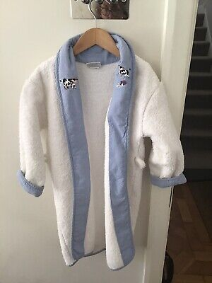 Gordonsbury  Embroidered Dressing Gown And Slippers  Age 2-3 Years