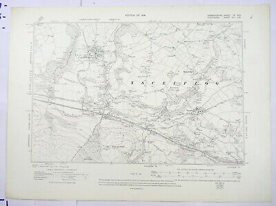 1914 OS 6 inches to a mile Map of Denbighshire – Caerwys IXNE