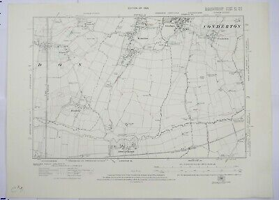1924 OS 6 inches to a mile Map of Gloucestershire – Conderton XIINE