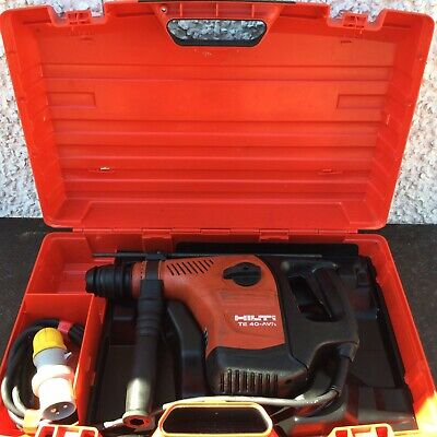 Hilti TE40-AVR SDS hammer drill, with chisel action, 110v