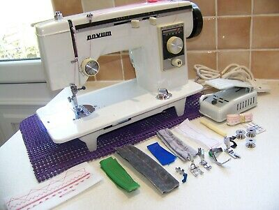 Janome Novum Mark 1X Steel & Brass Gears Semi Industrial Sewing Machine,Serviced