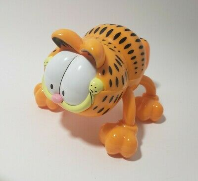 RaRe GARFIELD the Cat Vibrating Back Massager WORKS! Vibrator Novelty Comic PAWS